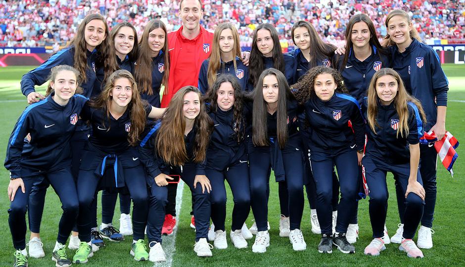 Temp 18/19 | Homenaje campeones Academia | Femenino Juvenil B