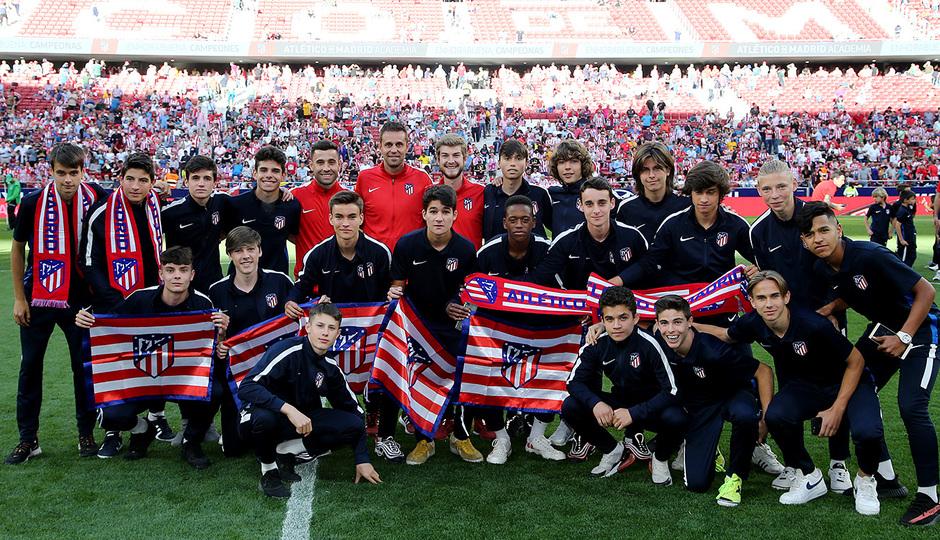 Temp 18/19 | Homenaje campeones Academia | Madrileño Cadete B