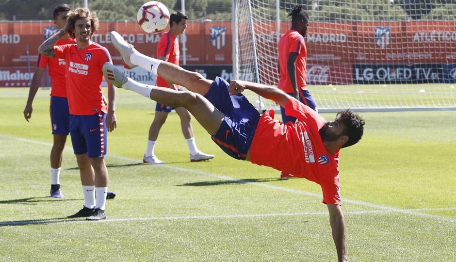 Temporada 18/19 | Entrenamiento del primer equipo | 15/05/2019 | Diego Costa