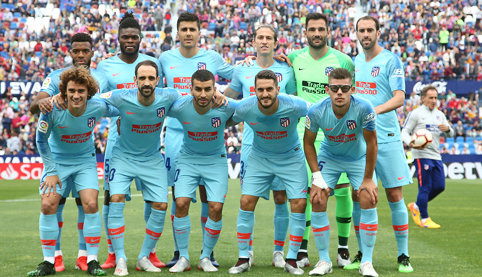Temp. 2018-19 | Levante - Atlético de Madrid | Once