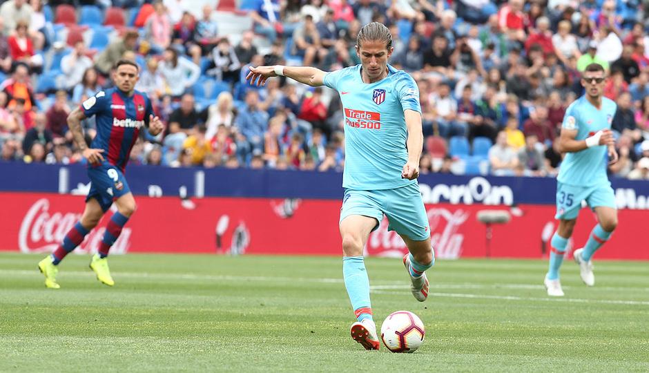 Temp. 2018-19 | Levante - Atlético de Madrid | Filipe Luis