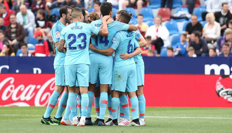 Temp. 2018-19 | Levante - Atlético de Madrid | Piña