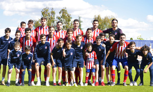 Temporada 18/19 | Atlético B - Las Palmas Atlético | Once inicial