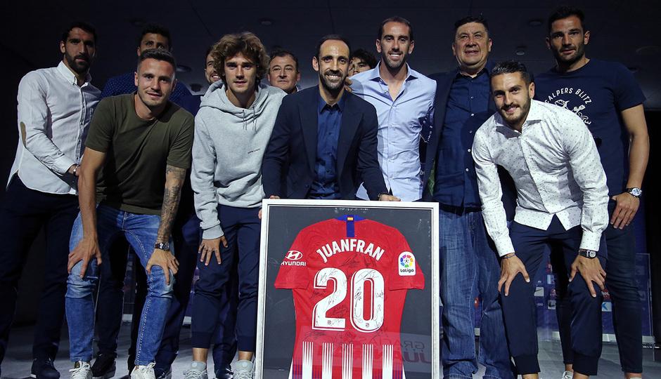 temporada 18/19. Despedida Juanfran