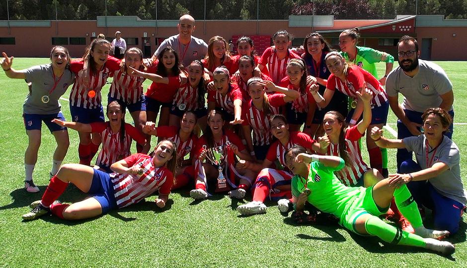 Temp. 2018-19 | Atlético de Madrid Femenino B, campeón Copa RFFM | GALERÍA ACADEMIA 2019
