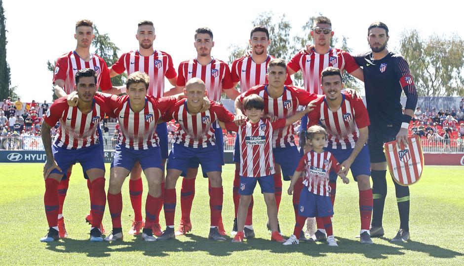 Temporada 18/19 | Atlético B-CD Mirandés | Once