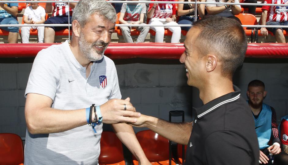 Temporada 18/19 | Atlético B-CD Mirandés | Entrenadores