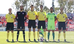 Temporada 18/19 | Atlético B-CD Mirandés | Capitanes