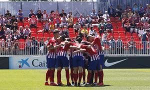 Temporada 18/19 | Atlético B-CD Mirandés | Piña conjura