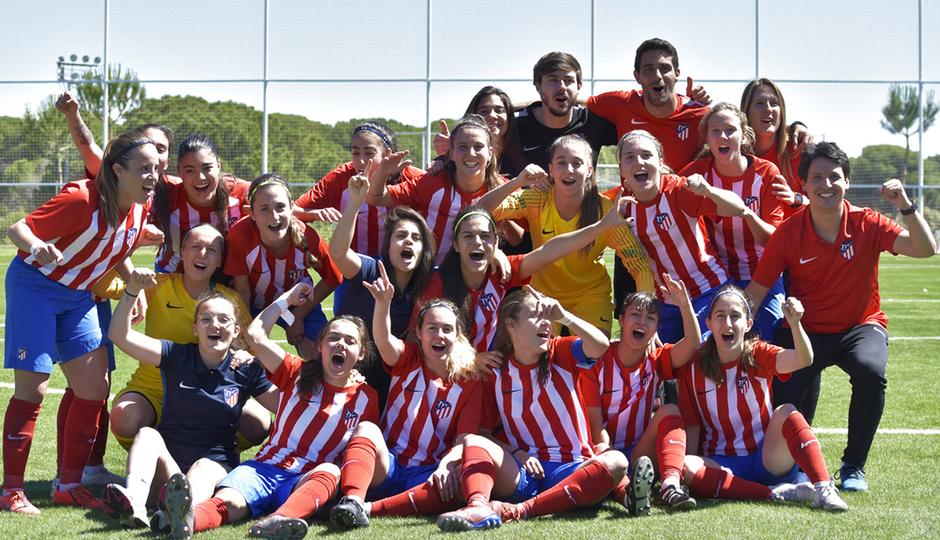 Temp. 2018-19 | Atlético de Madrid Femenino C, campeón liguero | GALERÍA ACADEMIA 2019
