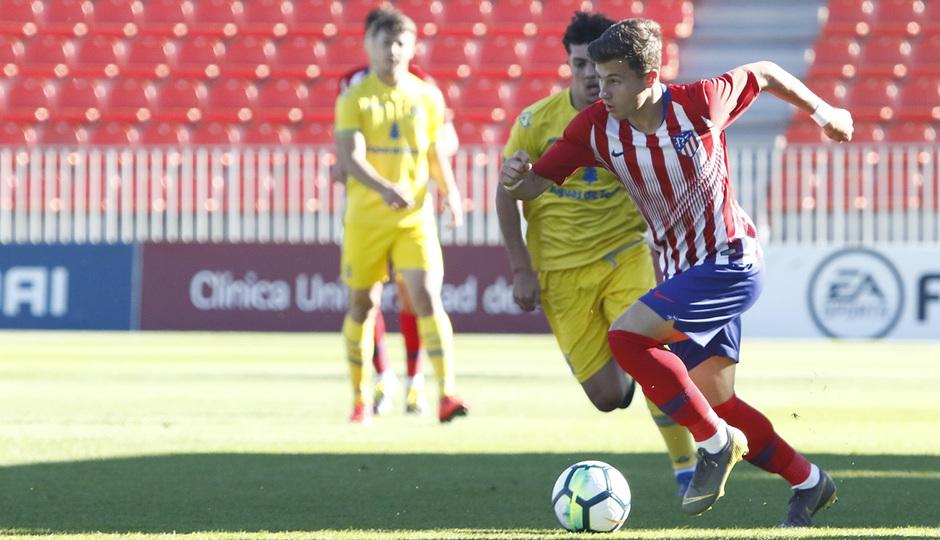 Temp. 2018-19 | Juvenil A - UD Las Palmas | Germán Valera