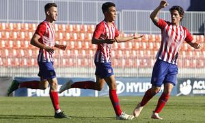 Temp. 2018-19   Juvenil A - UD Las Palmas   Celebración