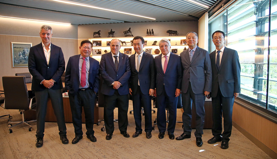 Temporada 18/19 | Visita Wanda Group | Miguel Ángel Gil