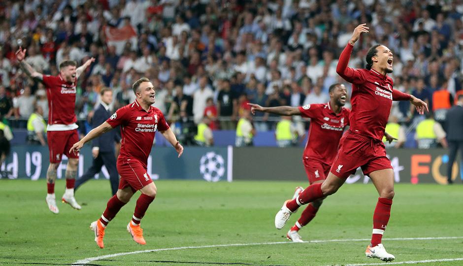 Temp 18/19 | Liverpool - Tottenham | Celebración
