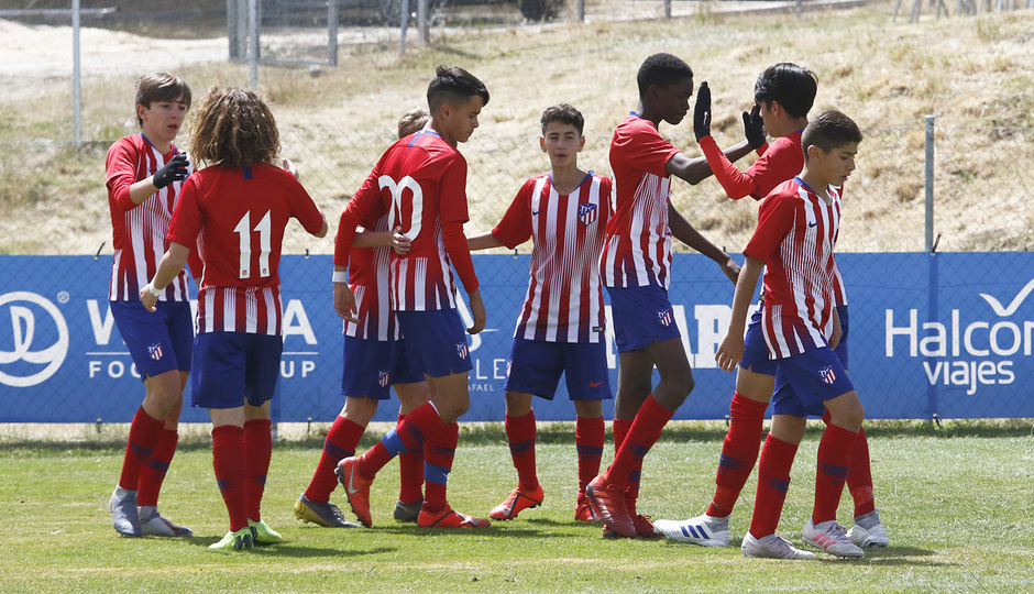 Wanda Football Cup | Atlético de Madrid Infantil A - Galatasaray | Celebración Infantil A