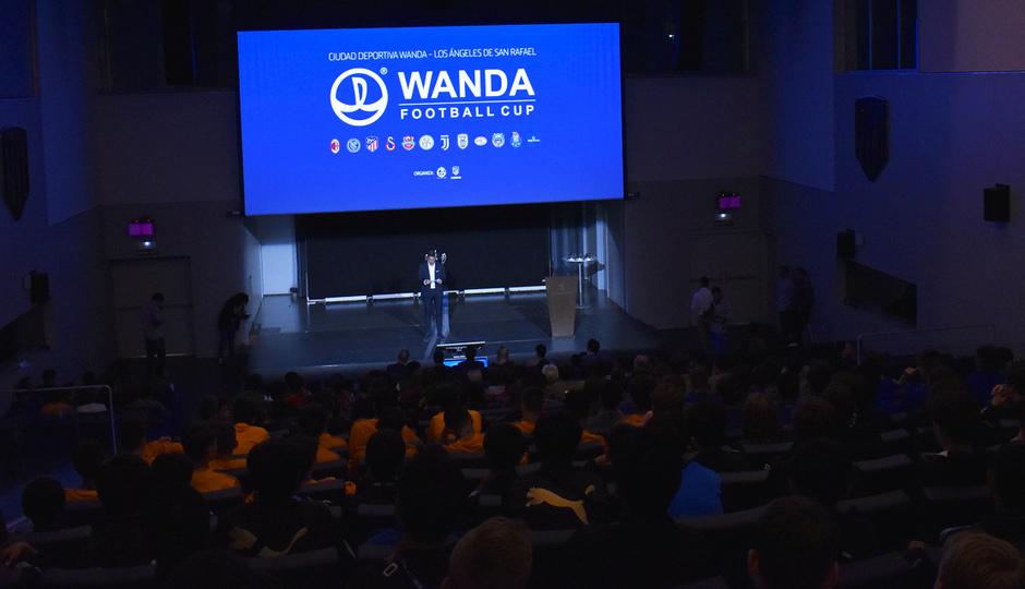 Wanda Football Cup | Presentación de la competición en el Wanda Metropolitano