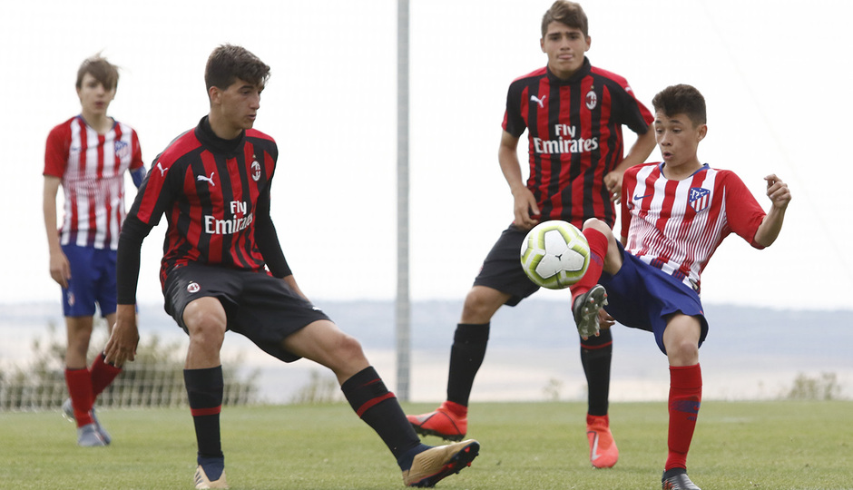 Wanda Football Cup   Atlético - AC Milan