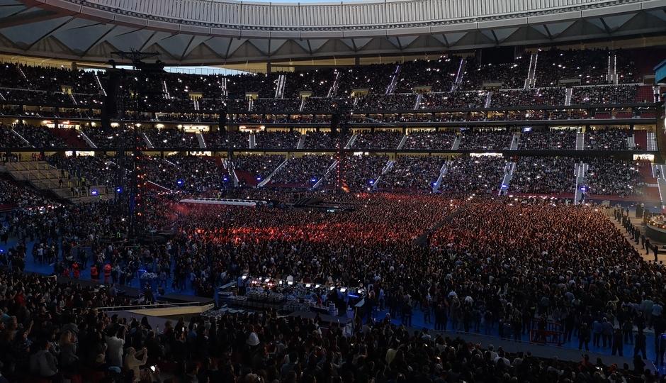 Concierto de Ed Sheeran. 2019. Wanda Metropolitano