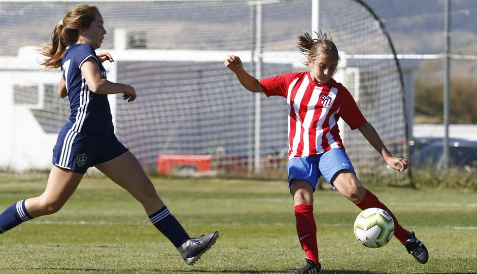 Temp 18/19 | Women's Football Cup | Atlético de Madrid - Los Ángeles Galaxy