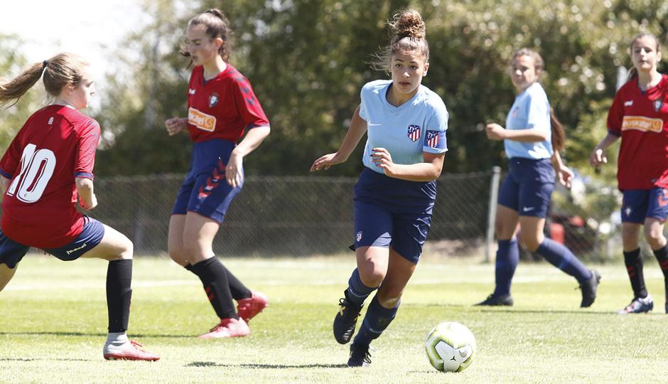 Temp 18/19 | Women's Football Cup | Atlético de Madrid - Osasuna