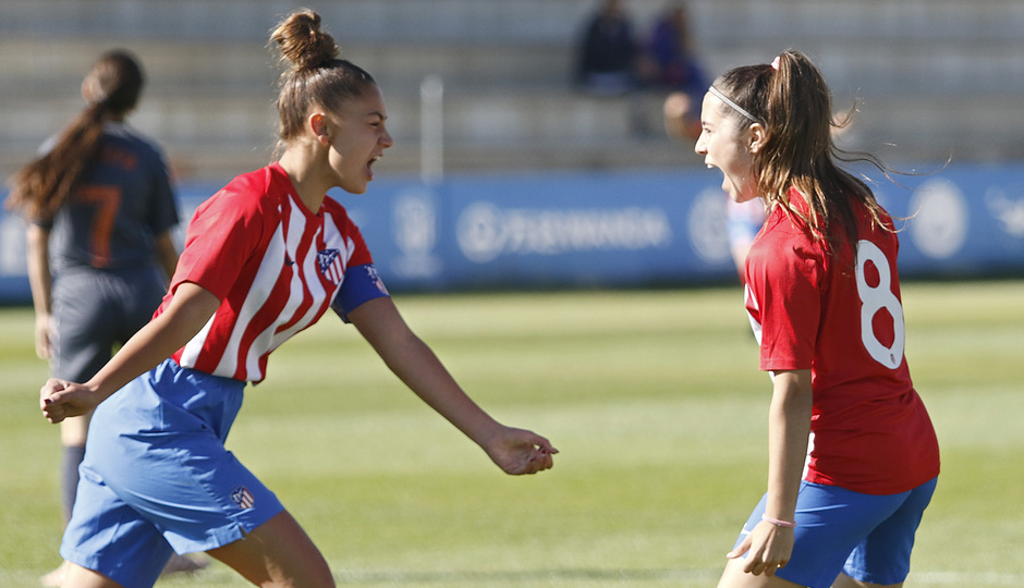 Temp 18/19 | Women's Football Cup | Atlético de Madrid - Zaragoza