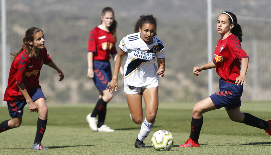 Temp 18/19 | Women's Football Cup | Galaxy - Osasuna
