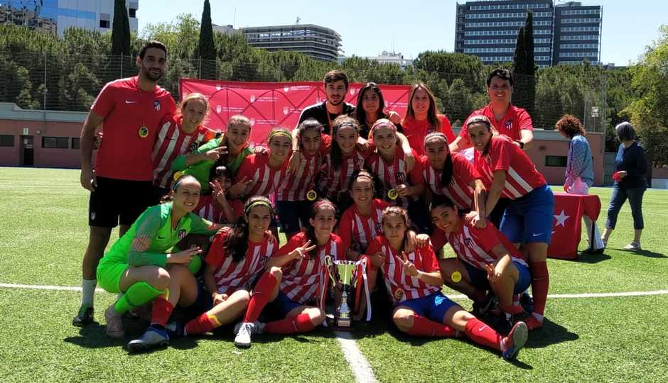 Temp. 2018-19 | Atlético de Madrid Femenino C, campeón absoluto de Madrid | GALERÍA ACADEMIA 2019