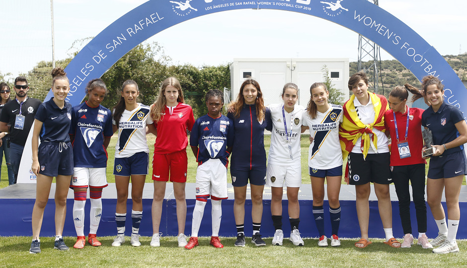 Womens Football Cup | Entrega de trofeos