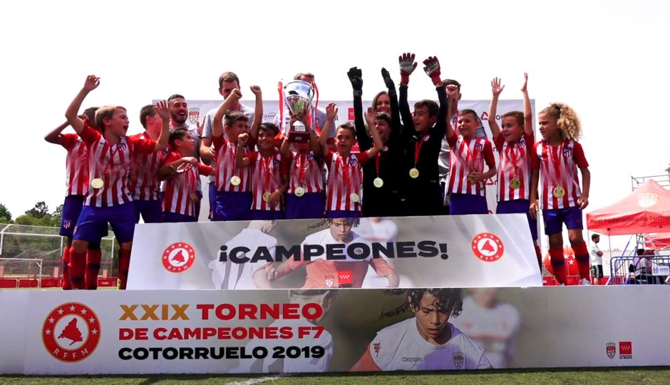 Temp. 2018-19 | Prebenjamín A, campeón absoluto de Madrid | GALERÍA ACADEMIA 2019