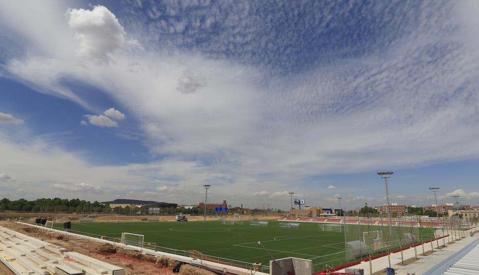 Obras Ciudad Deportiva Alcalá