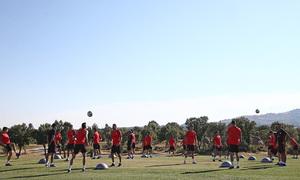 Temporada 19/20. Entrenamiento en Los Ángeles de San Rafael. Grupo