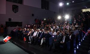 Temporada 2019/20. Presentación de João Félix en el auditorio del Wanda Metropolitano
