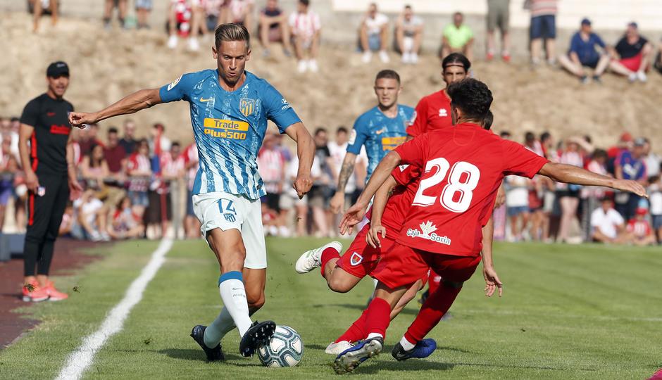 Temporada 19/20 | CD Numancia - Atlético de Madrid | Llorente