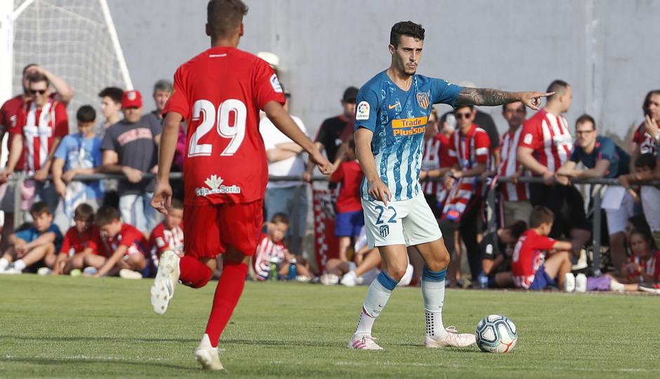 Temporada 19/20 | CD Numancia - Atlético de Madrid | Hermoso
