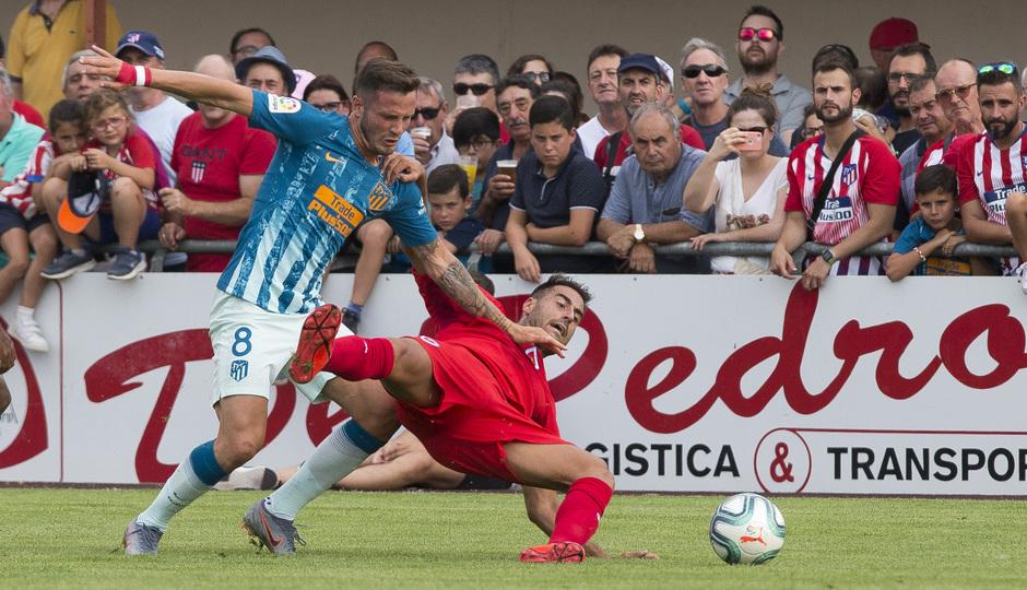 Temporada 19/20 | CD Numancia - Atlético de Madrid | Saúl