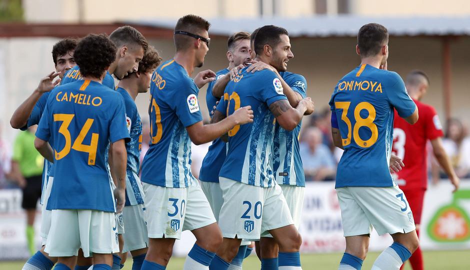 Temporada 19/20 | CD Numancia - Atlético de Madrid | Celebración