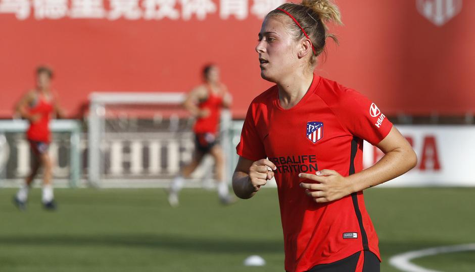 Temp. 19-20 | Entrenamiento Atlético de Madrid Femenino | Menayo
