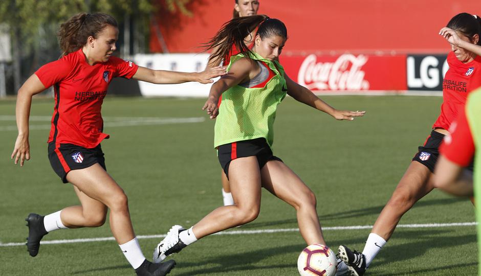 Temp. 19-20   Entrenamiento Atlético de Madrid Femenino   Ana Marcos