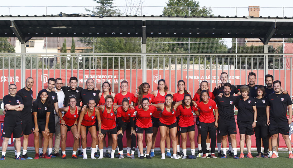 Temp. 19-20   Entrenamiento Atlético de Madrid Femenino  