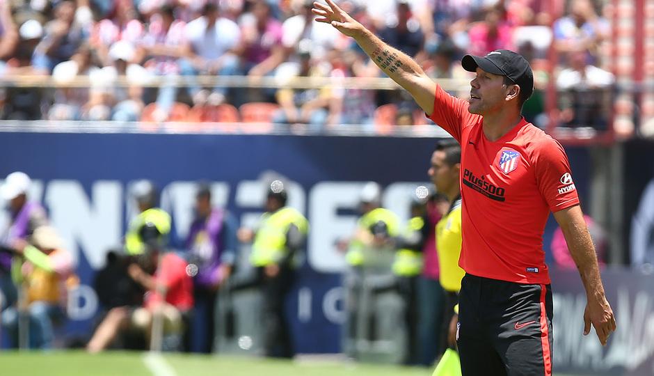 Temporada 18/19 | Atlético de San Luis - Atlético de Madrid | Simeone