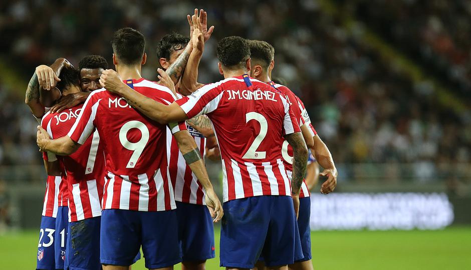 Temp. 19-20 | Atlético de Madrid - Juventus | Atleti Summer Tour | Celebración