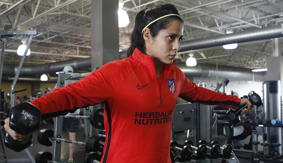 Temporada 19/20 | Entrenamiento del Atlético femenino en Raleigh | Kenti