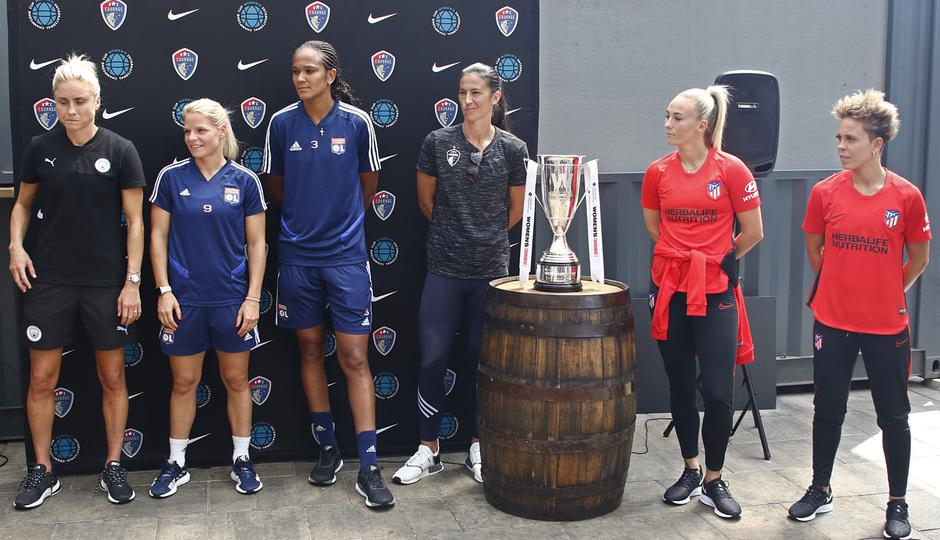 Temp. 19-20 | Presentación de la International Champions Cup | Atlético de Madrid Femenino |