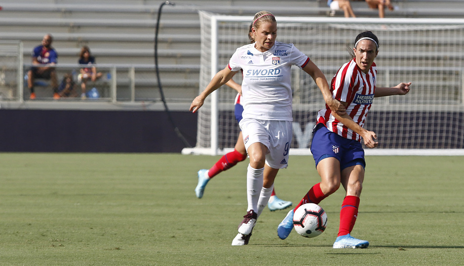 Temp. 19-20 | International Champions Cup | Lyon - Atlético de Madrid Femenino | Meseguer