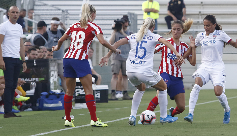 Temp. 19-20 | International Champions Cup | Lyon - Atlético de Madrid Femenino | Laia
