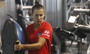 Temporada 19/20 | Entrenamiento del Atlético femenino en Raleigh | Olga Ovdyichuk