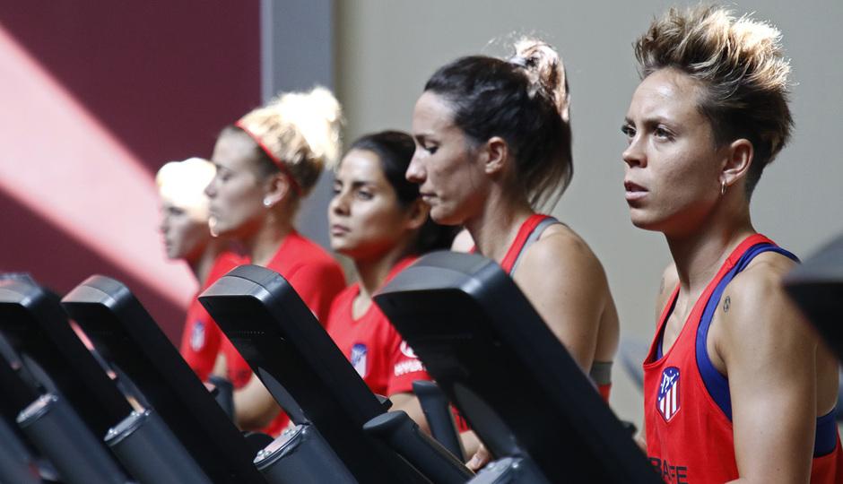 Temporada 19/20 | Entrenamiento del Atlético femenino en Raleigh | Amanda