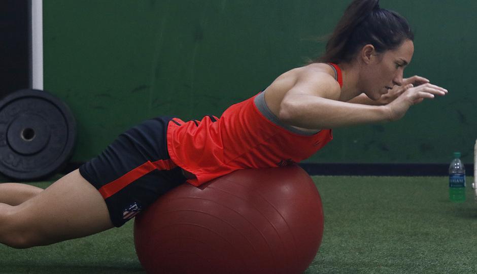 Temporada 19/20 | Entrenamiento del Atlético femenino en Raleigh | Silvia Meseguer