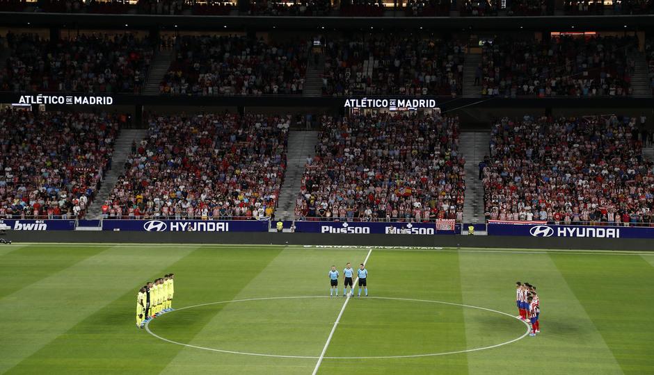 Temporada 19/20 | Atleti - Getafe | Minuto de silencio