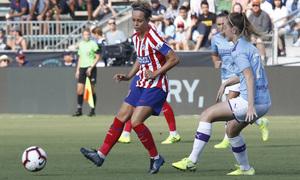 Temp. 19-20   International Champions Cup   Manchester City - Atlético de Madrid Femenino   Amanda